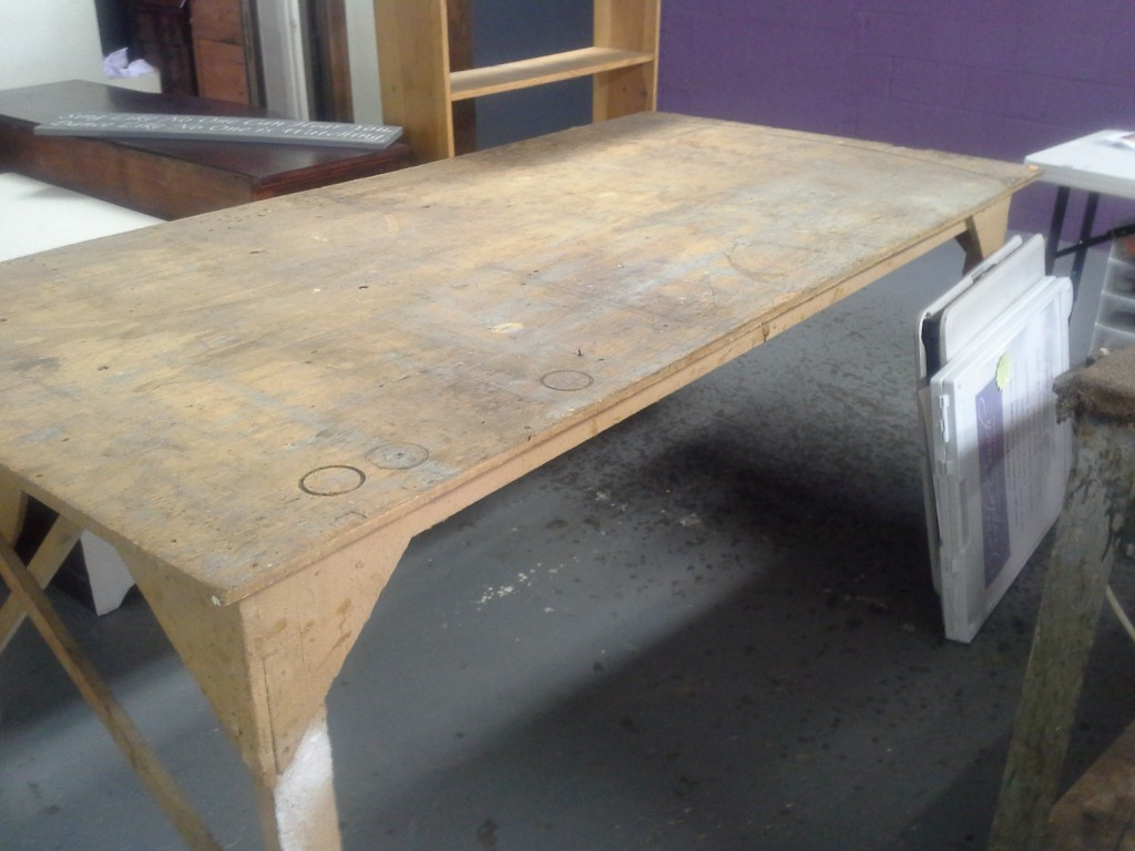 workshop table to CREATE