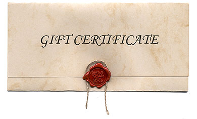 giftcerticate